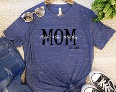 7e39f7d9a 15 Best Mom Shirts images | Mom shirts, Etsy seller, Gifts for mom