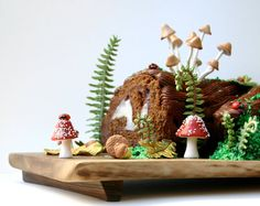 Woodland Cake Decorating Set / Make This by andiespecialtysweets, $104.60  this is sooo damn cute....