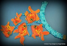 Crimson Frog Designs by Kinga Nichols: Sammy's Fishies revealed
