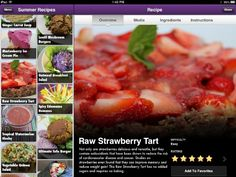 Summertime #Recipes available on #Vegan Delish, the #healthy, plant-based #cooking app for iPhones and iPads!