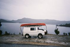 Delica and a Canoe. Outdoor Life, Outdoor Camping, 4x4 Van, On The Road Again, Tasmania, What Is Like, Van Life, Travel Around The World, Life Is Beautiful