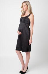 Ripe Maternity Alexis Satin Dress #expectingfashion #bumpedinbrooklyn #stylishmama