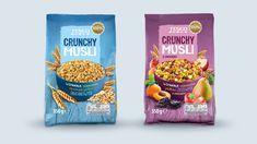 Resultado de imagem para tesco cereals packaging design