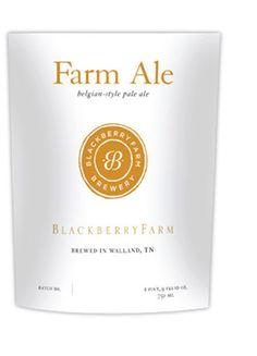 Blackberry Farm, Farm Ale