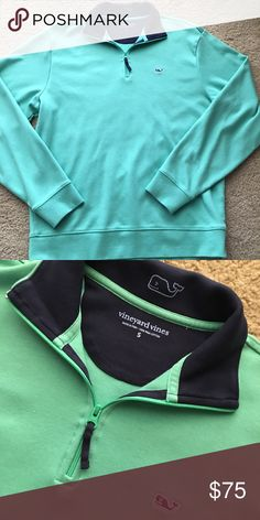 Vineyard vine pull over amazing condition. only worn a few times... also the second picture is a more accurate picture of the color. Vineyard Vines Jackets & Coats