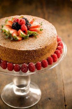 Grandmother Paul's Sour Cream Pound Cake