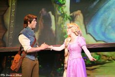 Flynn Rider and Rapunzel in Mickey and the Magical Map
