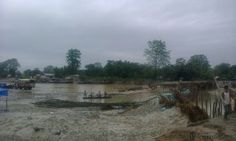 Bank of river Brahamaputra in Dholla, Tinsukia. Photo by Marshall