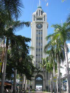 #photoadaymay 5/26 almost 12 o'clock Aloha Tower #Hawaii #waterfront