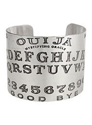 The New Victorians - Mystical Ouija Board Cuff Bangle Bracelet by ZAD Jewelry Jewelry
