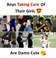 Image may contain: 5 people, text that says 'Boys Taking Care Of Their Girls Sunn Na ILove You Na Are Damn Cute' Qoutes About Love, True Love Quotes, Bff Quotes, Girly Quotes, Love Quotes For Him, Cute Quotes, Friendship Quotes, Funny Quotes, Missing Quotes