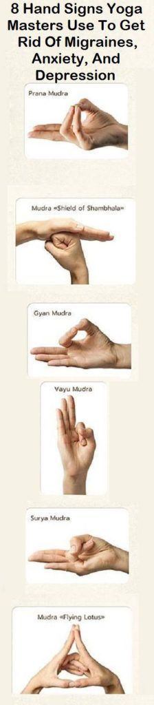 8 Hand Signs Yoga Masters Use To Get Rid Of Migraines, Anxiety, And Depression – Medi Idea