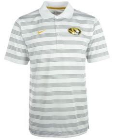 Nike Men's Missouri Tigers Dri-fit Preseason Polo Shirt - White S