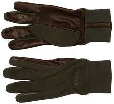From the Bergans of Norway hunting collection: wind repellent gloves in fleece/stretch material. Grip friendly leather on the palm and index finger.