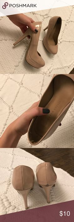 Lauren Conrad Nude pumps Lauren Conrad nude heels ! LC Lauren Conrad Shoes Heels