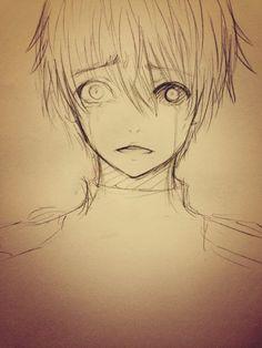 kaneki sketch thingy