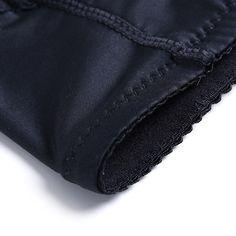 Stylish Men Plus Size Sexy Black Butt Lifting Underwear Stitching Patchwork  Body Shaper Breatahable Brief - f352927c7