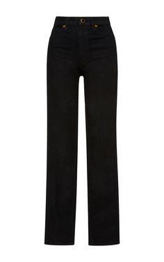 Khaite Vanessa Dark-Wash High-Rise Skinny Jeans...