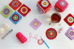 crochet cube soft toy