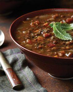 Persian Lentil Soup - http://www.sweetpaulmag.com/food/persian-lentil-soup #sweetpaul
