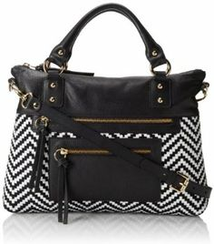 Pietro Alessandro Chloe Woven Top Handle Bag