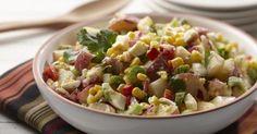 Salade de pommes de terre du sud-ouest en vinaigrette chipotle | Bien Faire