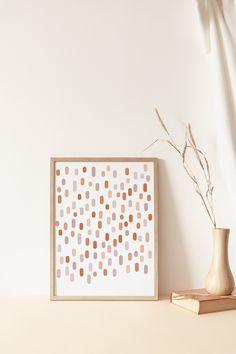 Art Diy, Diy Wall Art, Wall Art Decor, Wall Art Prints, Wall Decorations, Pastel Nursery, Girl Nursery, Nursery Decor, Mid Century Modern Decor