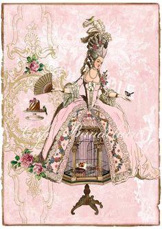 Cafe Baudelaire – коллекция романтических принтов. Обсуждение на LiveInternet - Российский Сервис Онлайн-Дневников