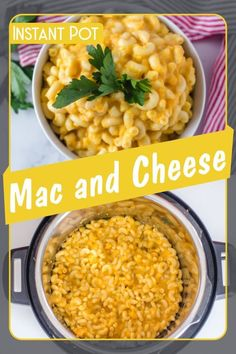 Mac and cheese is one of the most popular dishes over the world.     It's easy to make using your pressure cooker  and kid friendly, which makes it a great