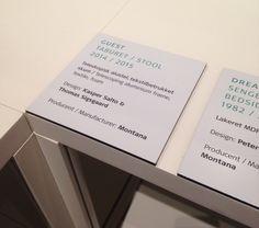 Design museum Copenhague - Cartel dibond