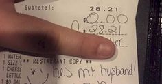 This server's viral response can only mean one thing: somewhere in the world right now there's a jealous wife whose cheeks are now red with embarrassment.