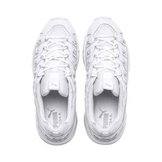 PUMA Cell Endura Rebound Trainers in White size 13 Streetwear, Baskets, Puma Basket, Tech Branding, Puma Cat, Cat Logo, Technology Logo, Rebounding, Runners