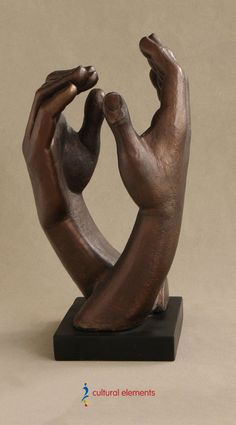 Statue of Cathedral Hands by Rodin, Inches - Dulcia Danzelman Different Types Of Meditation, Zen Meditation, Auguste Rodin, Hand Shapes, Modern Sculpture, Cathedral, Sculptures, Design Inspiration, Hands