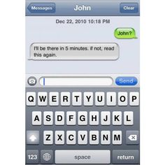 16 Funny iPhone Text Messages ❤ liked on Polyvore