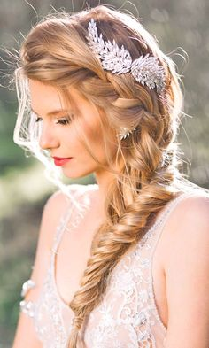 Wedding Hairstyles And#8211; Romantic Bridal Updos ❤ See more: http://www.weddingforward.com/romantic-bridal-updos-wedding-hairstyles/ #weddings