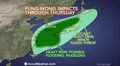 China, South Korea, Japan Facing Flood Threat From Fung-wong