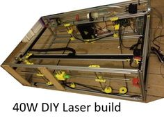 DIY 40W CNC Laser cutter, from bad to better with 3D printing by zilvertail - Thingiverse