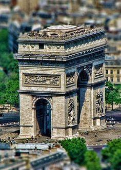 Travel Inspiration for France - Paris, France ~ Arc de Triomphe