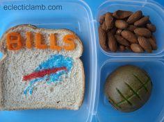 Buffalo Bills Themed Lunch