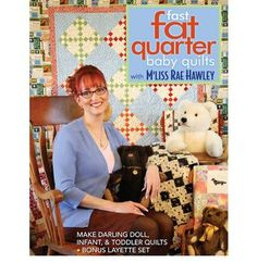 Lets you create quilts for your little ones. This book teaches you everything that you need to know to create snuggly cotton and flannel quilts for infants and toddlers. It includes a gallery of over 40 quilts, plus a bonus layette set and 2 adorable doll quilts to make from your leftovers.