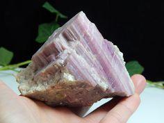 Terminated Rubellite Crystal w/ Lepidolite Striations in Matrix, Black Mtn Maine  | eBay