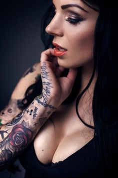 Tattoo'd Lifestyle Magazine Model Feature: Natalie Addams