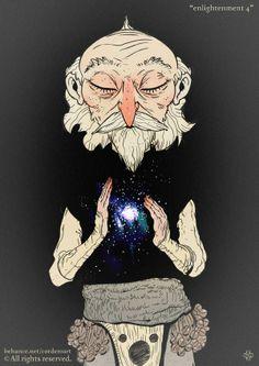 Enlightenment by Cordero Art, via Behance