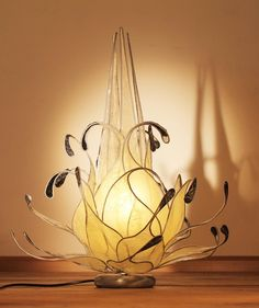 Lámparas de mesa - Jasmin - hecho a mano por Dasca-design en DaWanda --- www.dascadesign.it