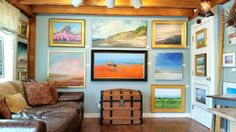 Located in Sandwich, Cape Cod, Palette Fine Art Gallery proudly represents fine artists in all mediums, including photography, blown glass and jewelry.