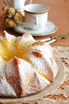 Italian Desserts, Italian Recipes, Sweet Recipes, Cake Recipes, Torte Cake, Breakfast Cake, Cupcakes, Sweet Bread, Creative Food