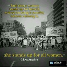 Stand up for all Women
