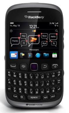 nice BlackBerry Curve 9310 Prepaid Phone (Boost Mobile) #BoostMobilePhones