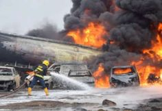The Lagos State Emergency Management Agency has said two people have been confirmed dead and 30 vehicles burnt in the Ijegun, Lagos pipeline Victoria Island, Private Hospitals, Emergency Management, State Police, Survival, Death, Fire, History, Vehicles