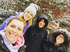 Lovely snowy morning at Centreparcs with my Lovely Ladies @centreparcs #centreparcswoburn #girlytimes @moralhazard80